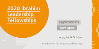 Mo Ibrahim Foundation Leadership Fellowship (AfDB) Programme 2020