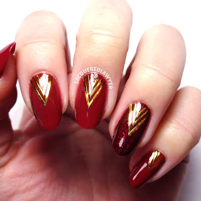 Currant Crush Nails