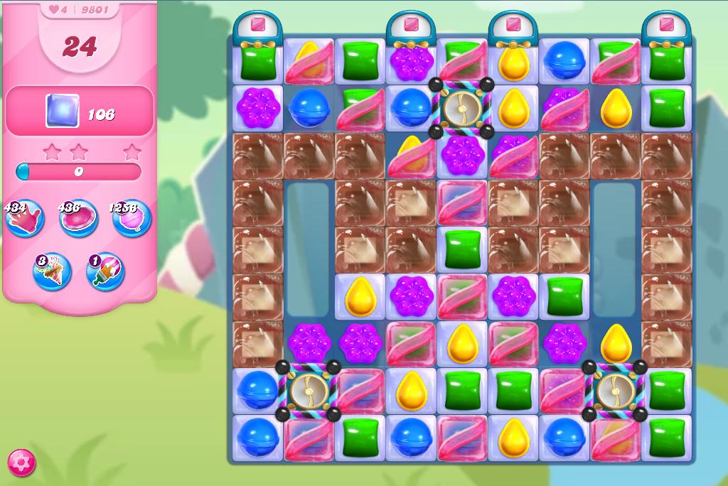 Candy Crush Saga level 9801