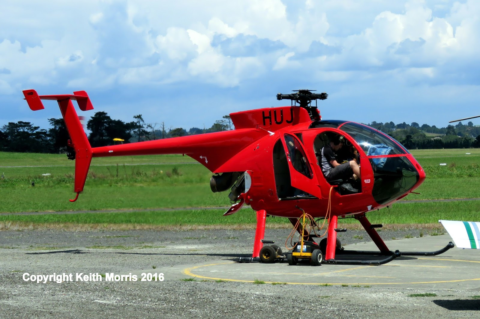 NZ Civil Aircraft North Shore Airfield Helicopters 1022016
