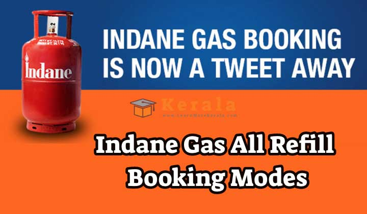 Indane gas all refill bookings