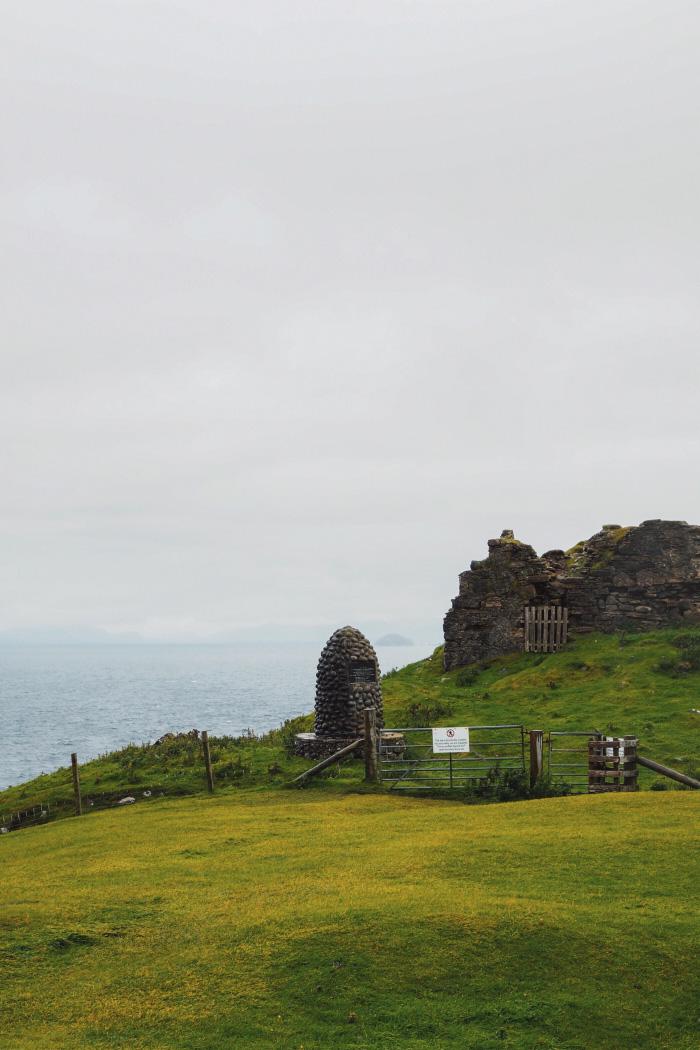 Duntulum sur l'île de Skye en Ecosse