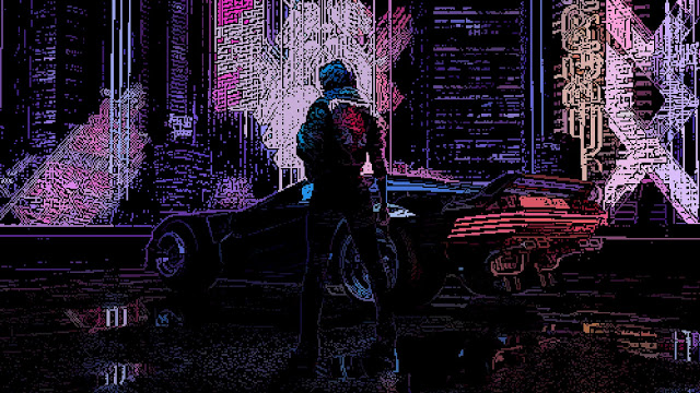 Wallpaper Cyberpunk 2077 Retro