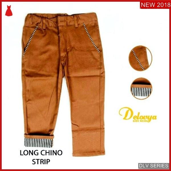 DLV30C32 Chino Gold Anak Stripe Celana Panjang Balita Murah BMG