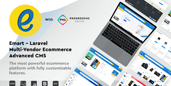 emart v2.1 - Laravel Multi-Vendor Ecommerce Advanced CMS - nulled