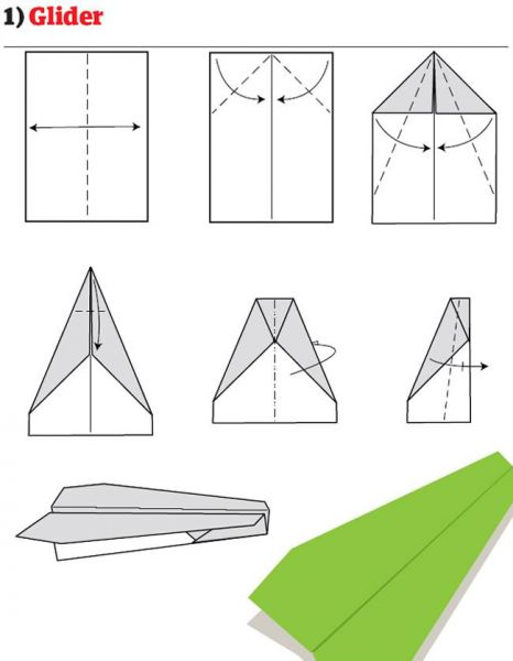 Cara Membuat Pesawat Kertas Yang Bisa Terbang Super Jauh: Cara Membuat Pesawat Kertas