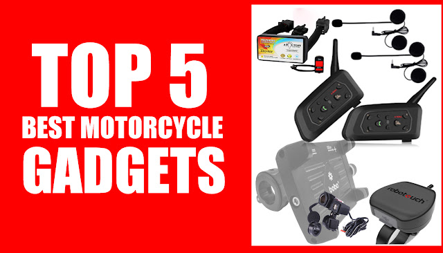 Top 5 Best Motorcycle Gadgets And Accessories In 2020
