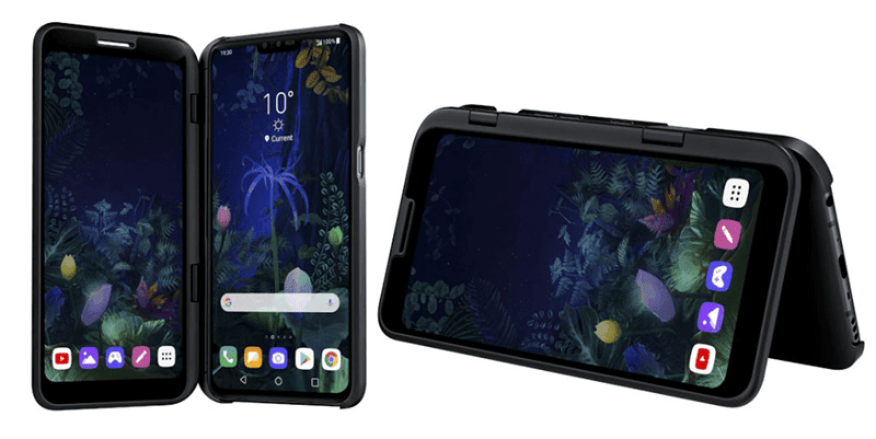 #MWC19: LG V50 ThinQ now official with 5G and optional second screen