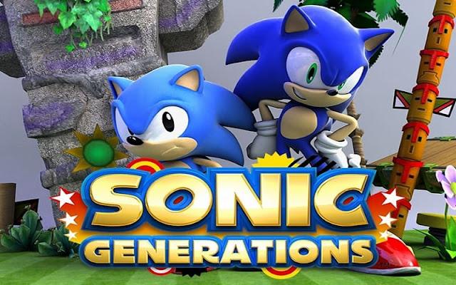 تحميل لعبة sonic generations مجانا للكمبيوتر