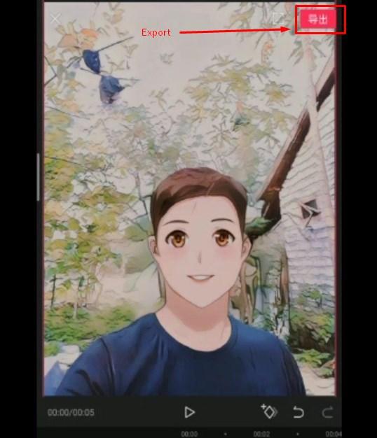 Cara Membuat Wajah Seperti Kartun Anime dengan Capcut TikTok