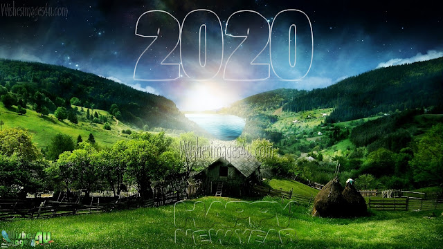 Happy New year 2020 1080p Nature Background Wallpapers