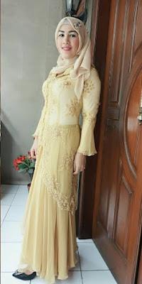model kebaya batik untuk pesta modis