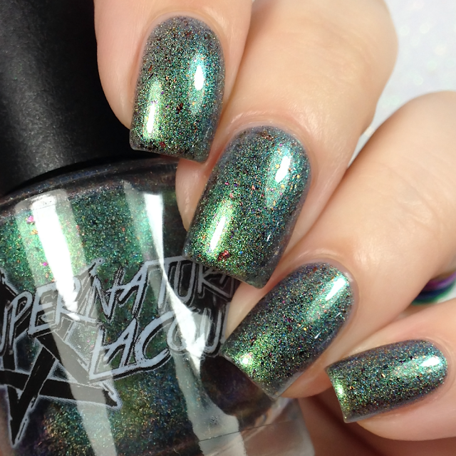 Supernatural Lacquer-Poppy Fields of Emerald City 2.0