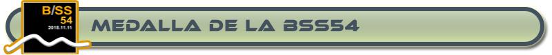 MEDALLA DE LA BSS54