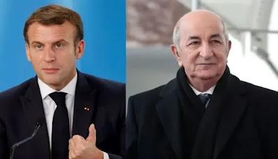 الجزائر ترد على ماكرون: تصريحكم غير مقبول وجرائم فرنسا لا تعد ولا تحصى
