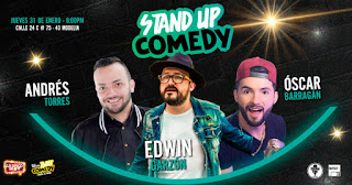 3er fecha Stand Up Comedy Disco Show