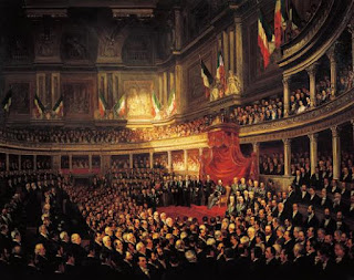 The painting by Dutch artist Pierre van Elven is on display the at Museum of the Risorgimento