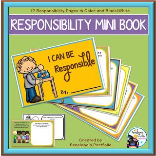 Responsibility Mini Book