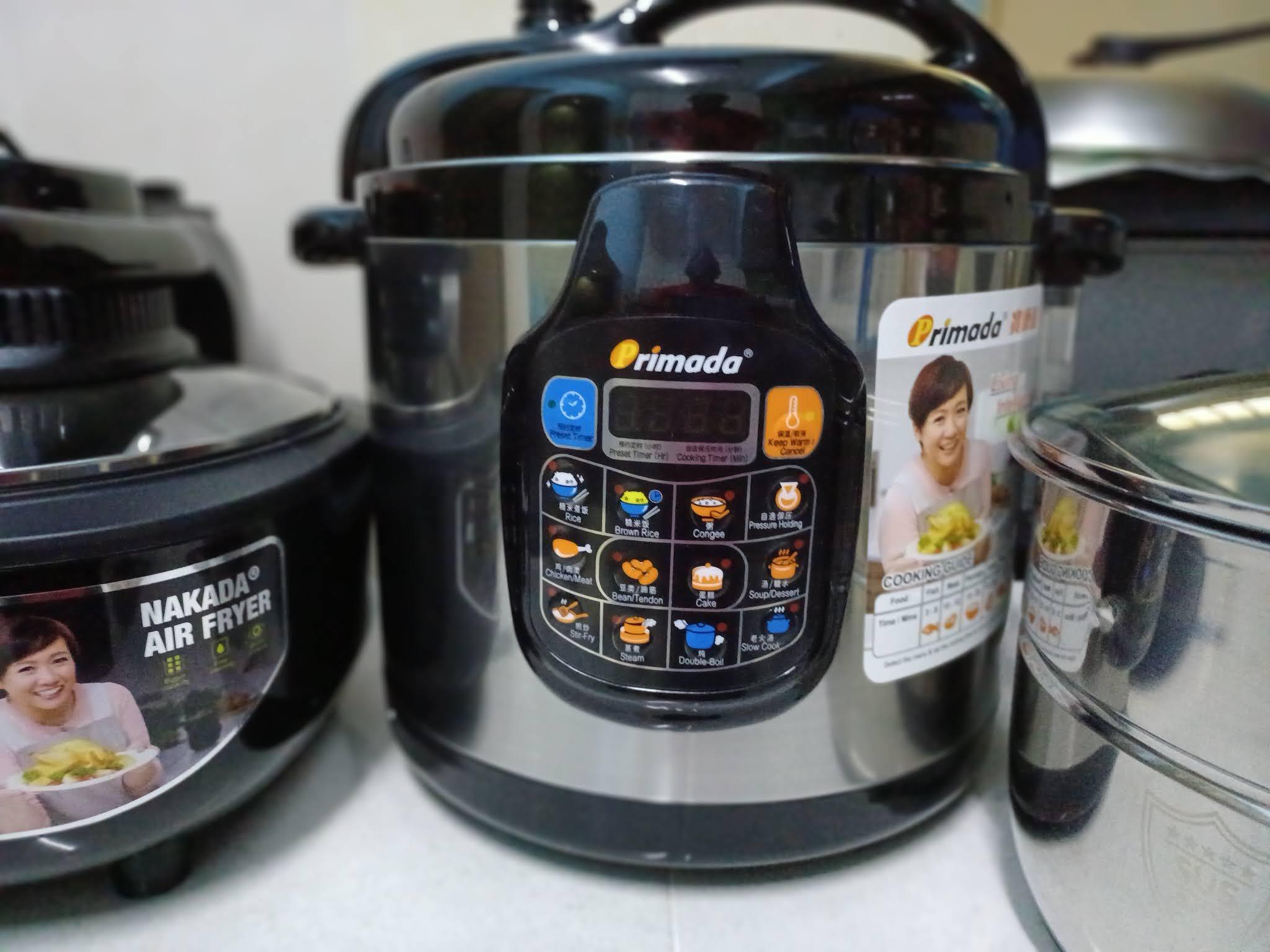 Beli Intelligent Pressure Cooker Primada Dari Go Shop