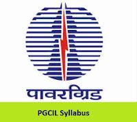 PGCIL Syllabus