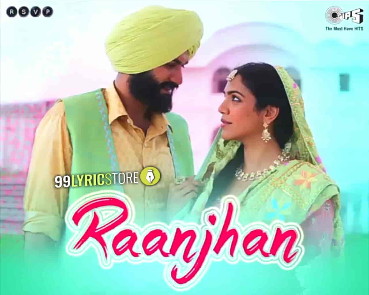 Raanjhan Lyrics Images from Bhangra Paa Le