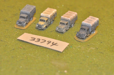 10mm WW2 / german - 4 trucks - vehicles (33794) picture 2