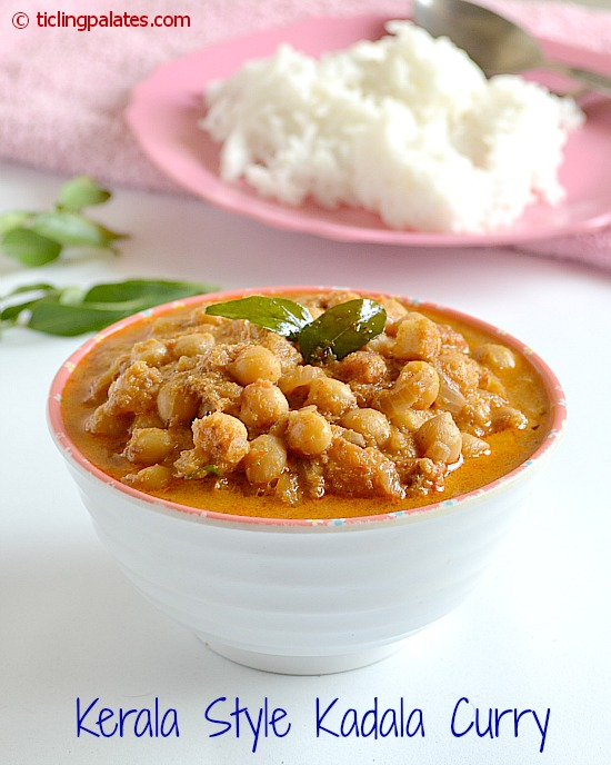 Garbanzo Beans Cooked in Coconut Gravy