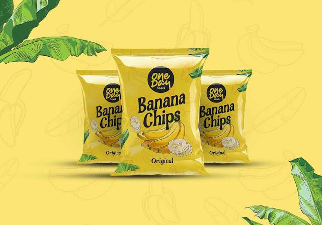 free Bana Chips Display Font