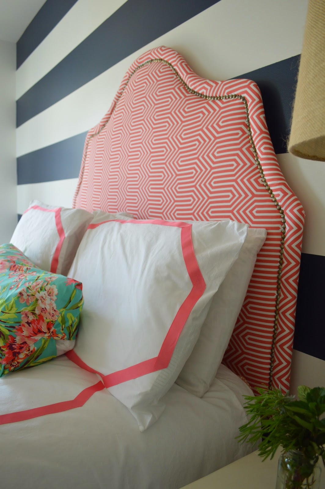 Right up my alley: DIY A Tall Headboard