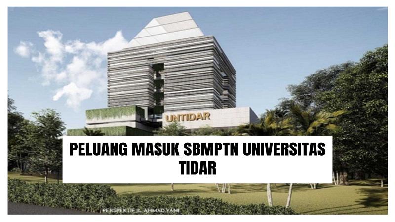 Peluang Masuk SBMPTN UNTIDAR 2021/2022 (Universitas Tidar)