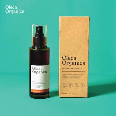 Oleca Organics Slimming Oil Pembakar Lemak