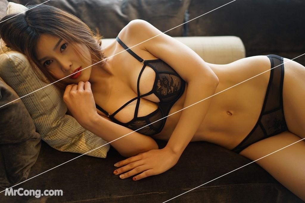 Image Yan-Pan-Pan-Part-3-MrCong.com-013 in post Ngắm vòng một siêu gợi cảm với nội y của người đẹp Yan Pan Pan (闫盼盼) (51 ảnh)
