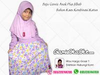 Gamis Anak Oka Oke Solo Bahan Kaos Plus Jilbab Terbaru