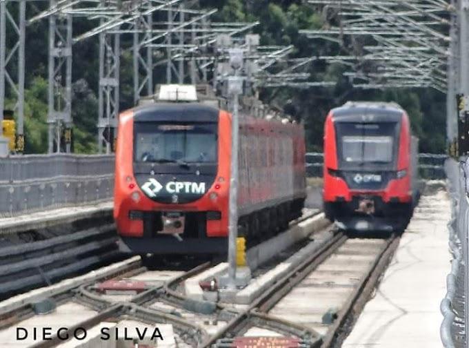 Trem chinês da série 2500 inicia testes na Linha 13-Jade da CPTM