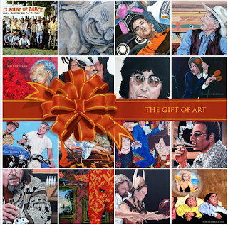 The Gift of Art by Boulder Contemporary artist Tom Roderick