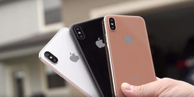 Cores do iPhone 8 Plus