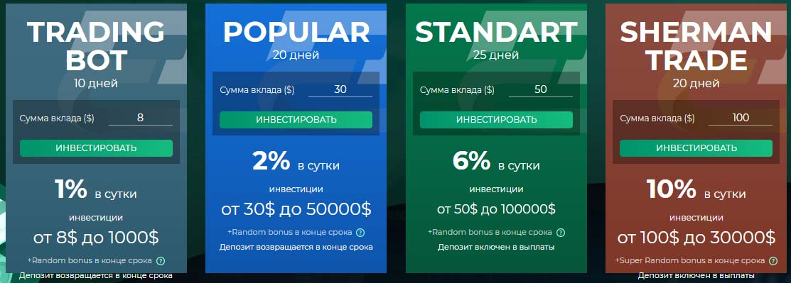 Инвестиционные планы Primefund Capital