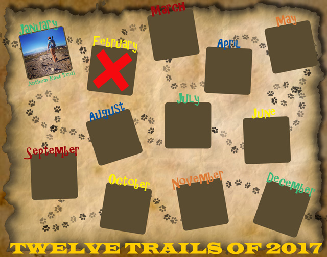 Twelve Trails of 2017 - February