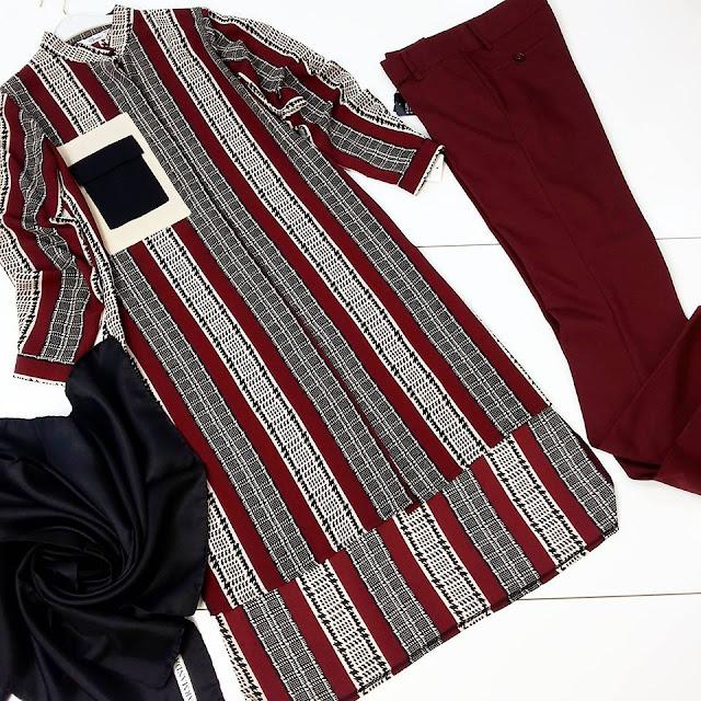 2016-2017 sonbahar kış tesettür giyim kombinleri