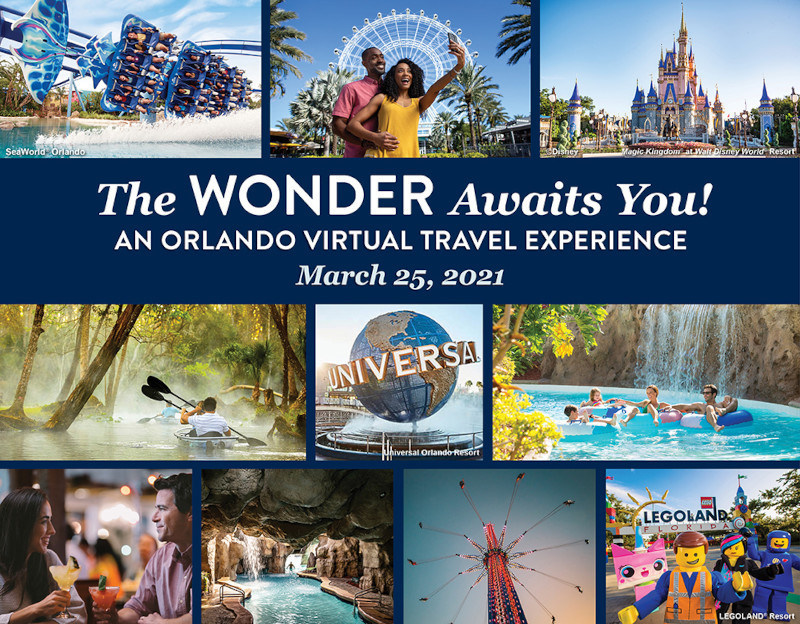 Visit Orlando to host experiential virtual travel show