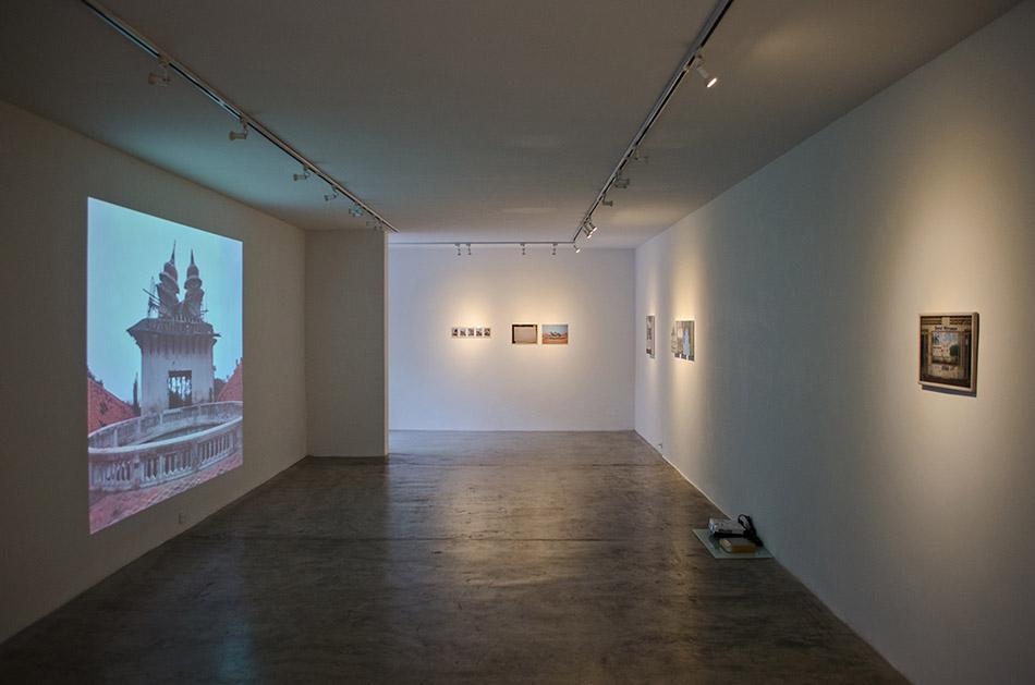 Vista de la exposición de Manuel Eduardo González en Spazio Zero