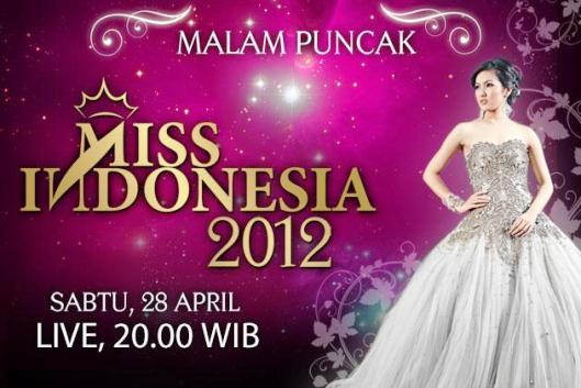 Malam Puncak Pemilihan Miss Indonesia 2012