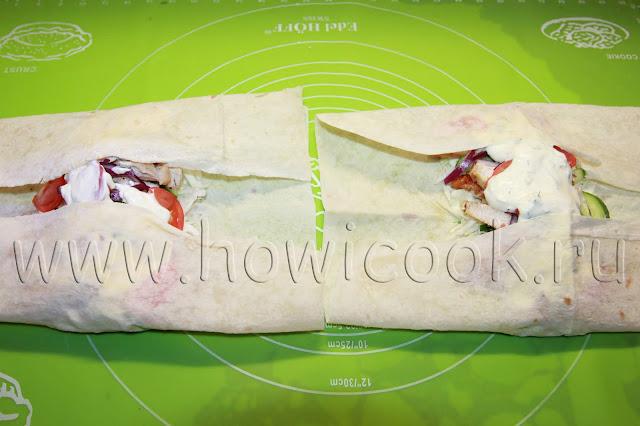 рецепт шавермы с курицей с пошаговыми фото