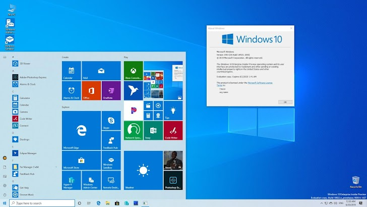 Windows 10 Insider Preview Build 18922 Dirilis Untuk Fast Ring