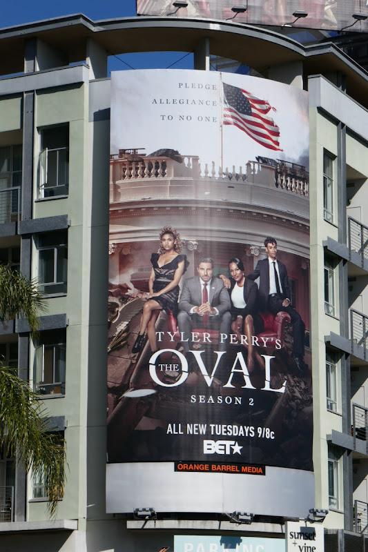 The Oval season 2 billboard