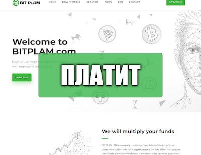 Скриншоты выплат с хайпа bitplam.com