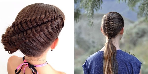 DIY Dutch Infinity Braid Hair Tutorial The HairCut Web