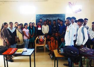127 वां युवा दिवस विद्यार्थियों ने मनाया