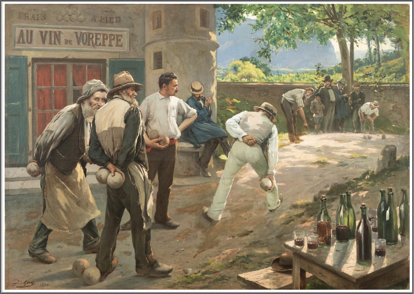 zarte Farben suche nach dem besten außergewöhnliche Auswahl an Stilen und Farben Le Prince Lointain: Jacques Gay (1851-1925), Au vin de ...