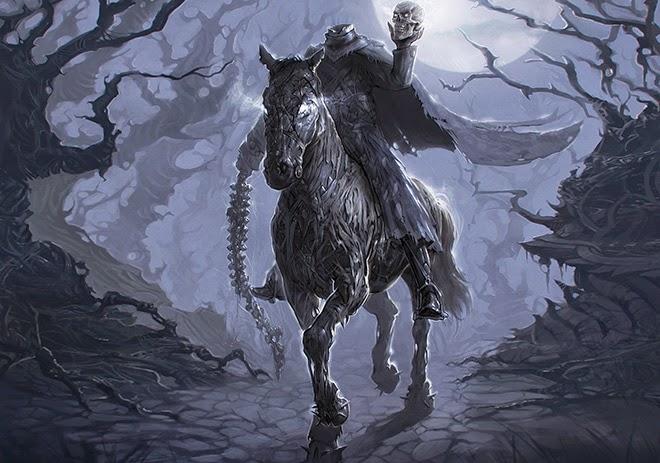 floclore, mitologia celta, zona 33, monstros, irlanda, dullahan